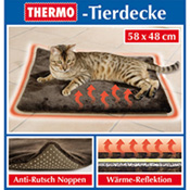 Thermo-Tierdecke